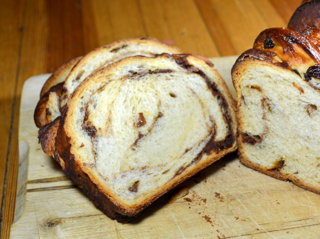 Cinnamon Swirl Bread - americas test kitchen recipe with another way of filling the bread..
