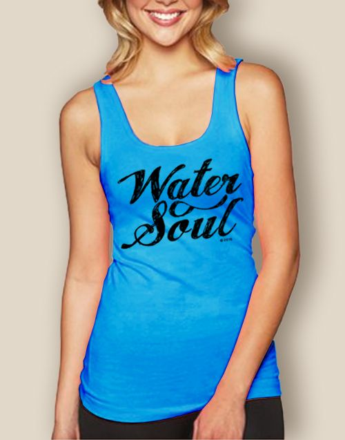 WaterGirl Water Soul Jersey Tank - The Water Soul