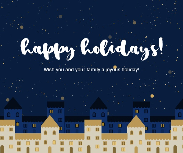 Want To Make An Online Warm Happy Holidays Facebook Post Free Design Click The Link And Begin To Desi Happy Xmas Card Holiday Greetings Holiday Greeting Cards