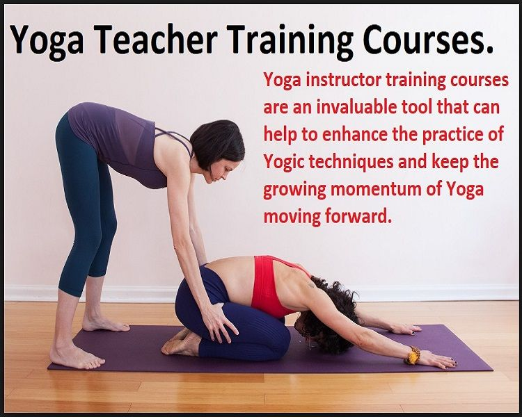 what are the courses in yoga