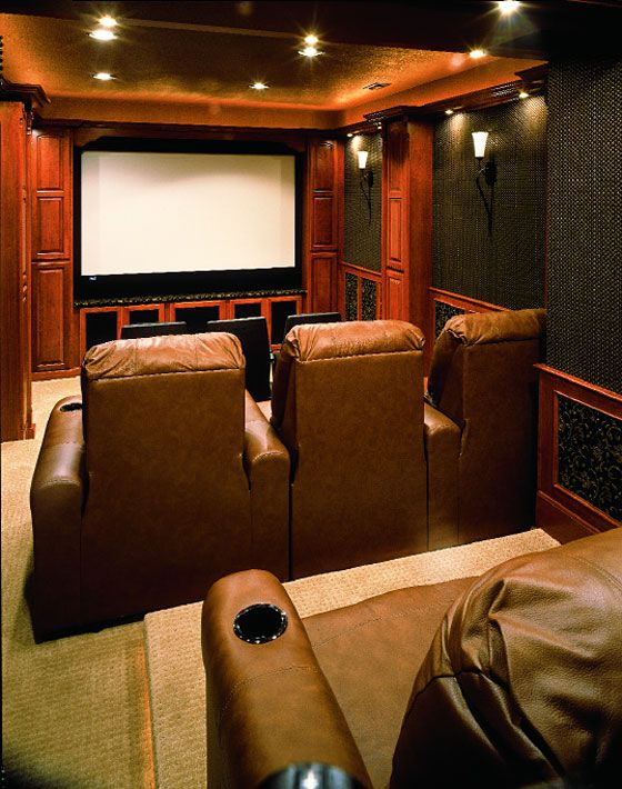 Great For Smaller Space. Theater Rooms - Google Search