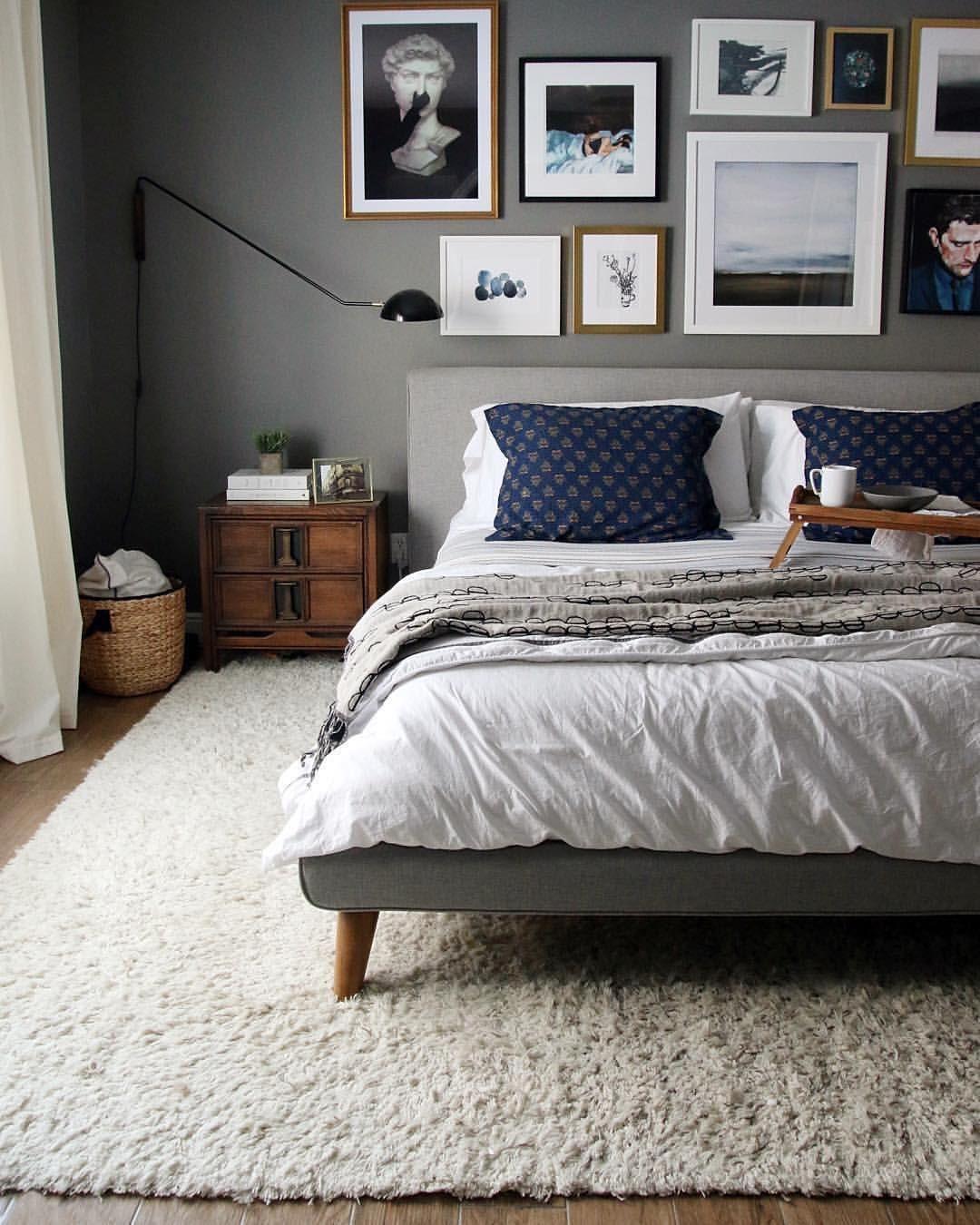 """west elm on Instagram: """"Hey, @chrislovesjulia, we love your bedroom! #mywestelm"""""""