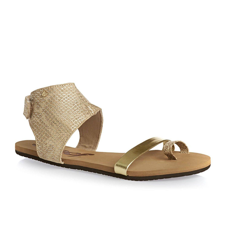 Reef Women's Hampton Gold Sandal 5 B (M) >>> Visit the image