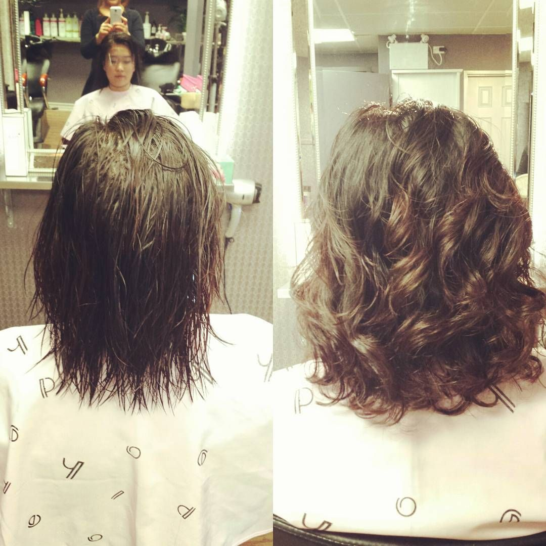 Instagram Photo By Momohair Feb 2 2016 At 10 29pm Utc Short Permed Hair Permed Hairstyles Spiral Perm
