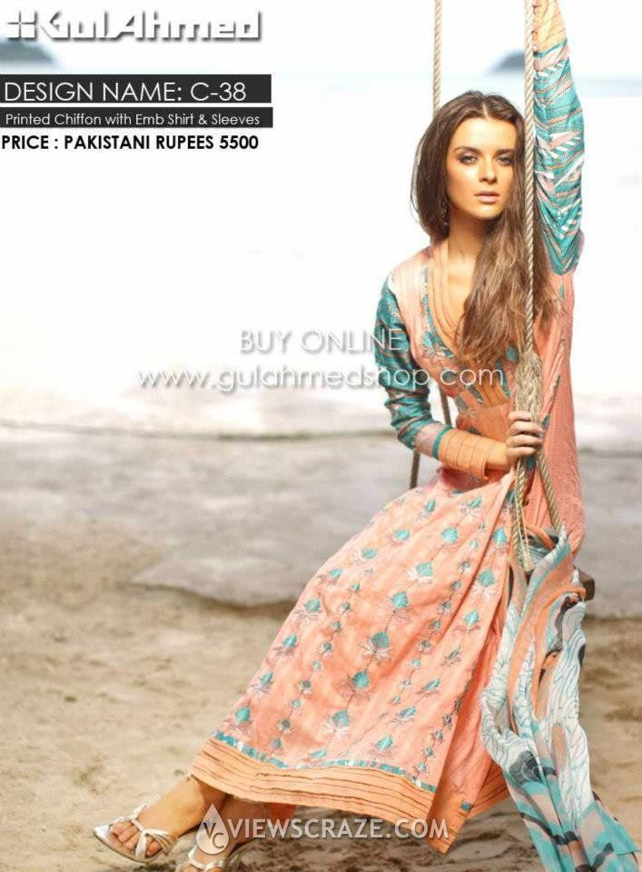 Gul Ahmed, mid summer collection