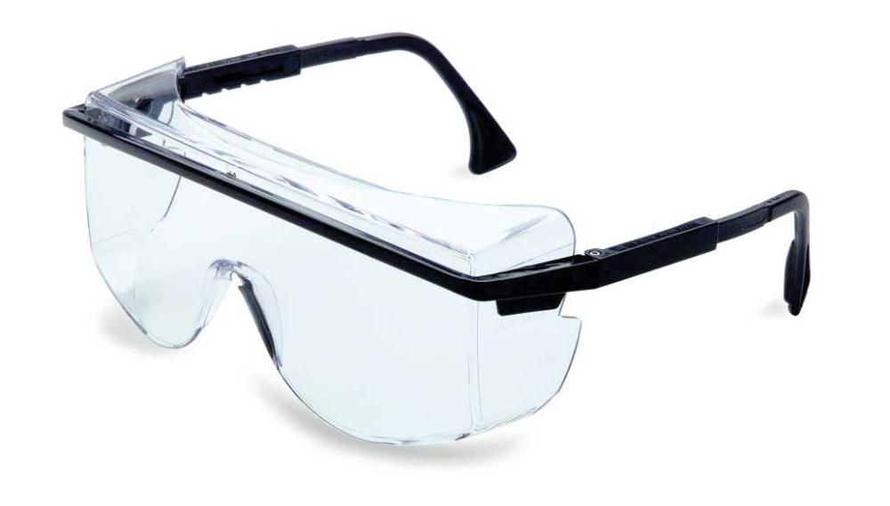 Uvex S2500 Astrospec 3000 Black Frame/Clear Lens in 2020