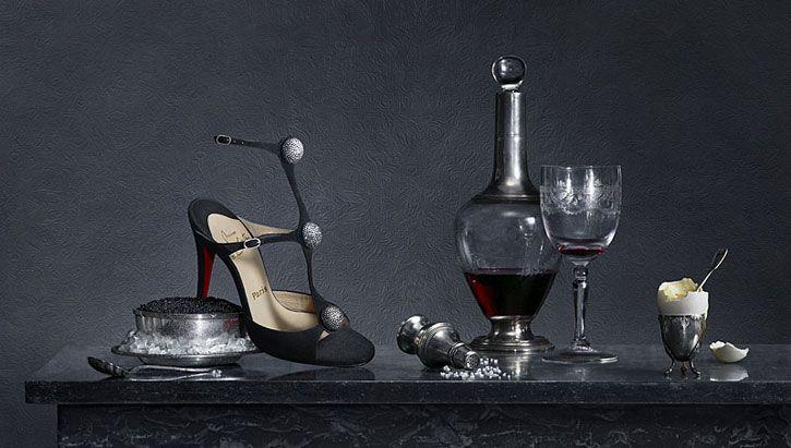 Christian Louboutin / photographer: Peter Lippman #stilllife #accessories #objects