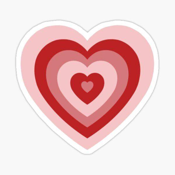 Indie Heart Sticker Sticker