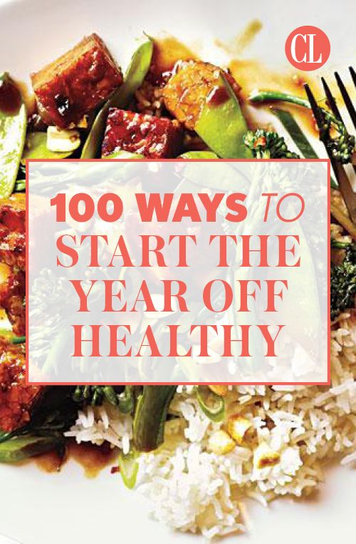 These 100 healthy tips will get you started to a wholesome year full of  fitness, nutrition, and a more healthy lifestyle. Lose weight, put a bounce  in your ...