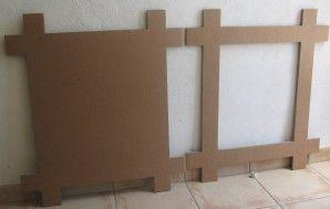 Miroir En Carton Termine Meuble En Carton Meubles En Carton Mobilier De Salon