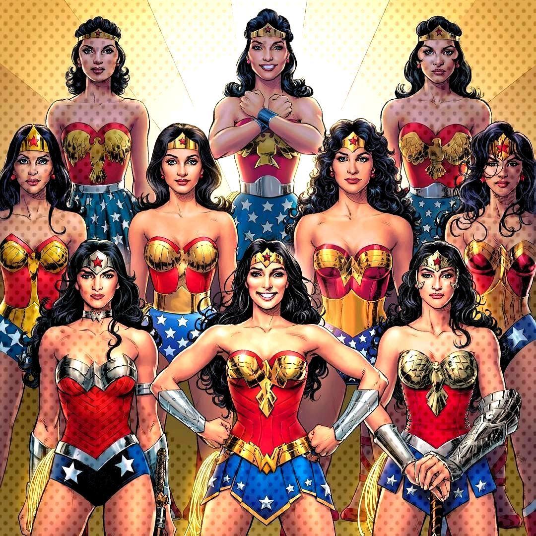 Mujer Maravilla a través del tiempo - DC Cómics
