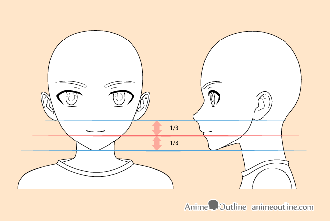 Anime boy mouth drawing | Drawing tutorial face, Anime boy ...