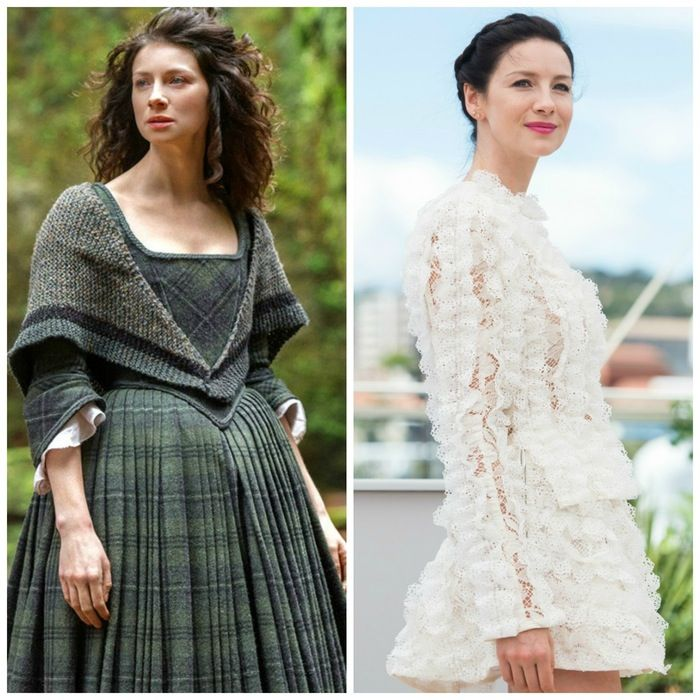 Caitriona Balfe  - This is What the Cast of 'Outlander' Looks Like Out of Costume!