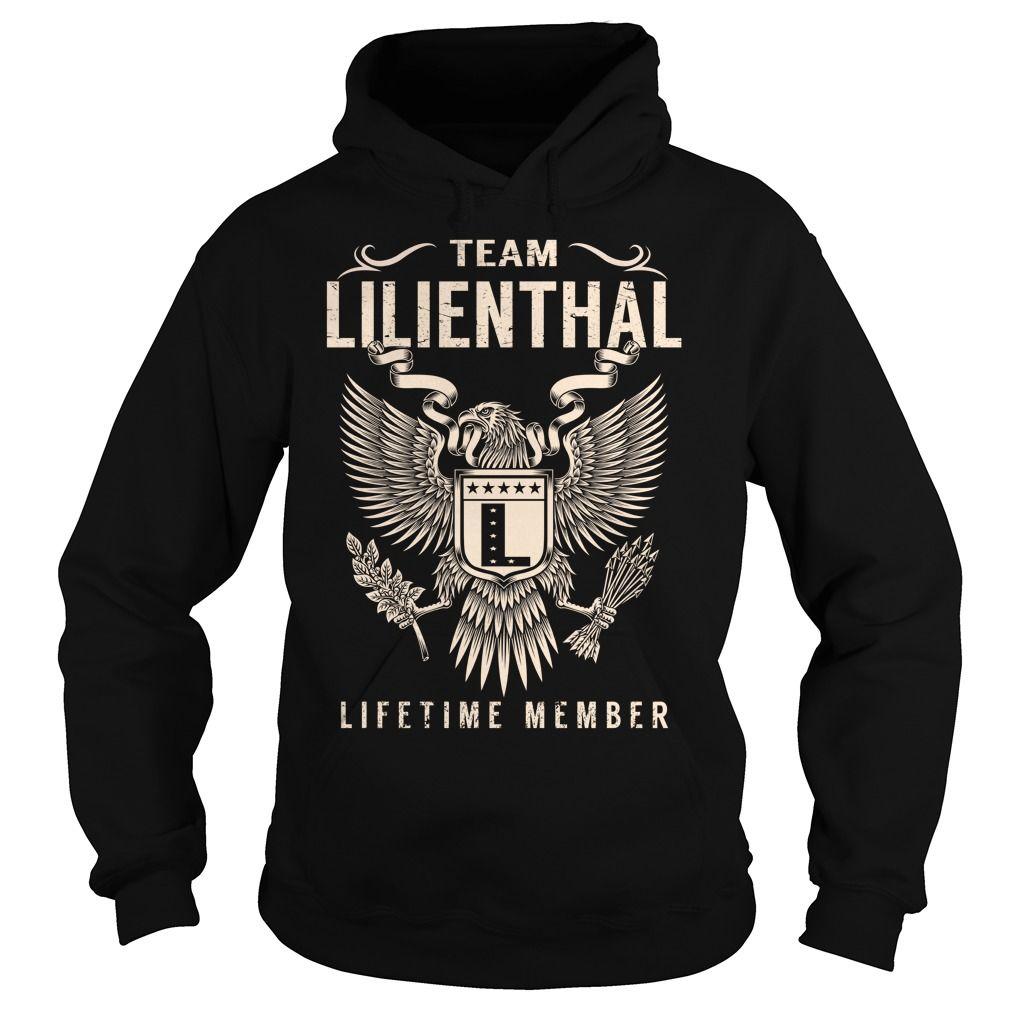 Team LILIENTHAL Lifetime Member - Last Name, Surname T-Shirt