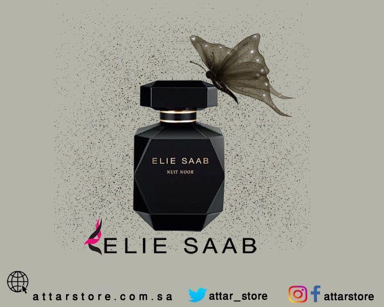 Elie Saab Nuit Noor Eau De Parfum عطر شرقي زهري لـ النساء تتكون م قدمته من الفلفل الأسود والتوابل وقلب العطر من ا Perfume Perfume Bottles Elie Saab