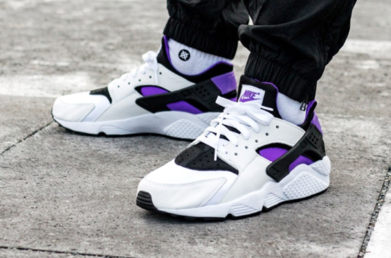 Look Out For The Nike Air Huarache 91 Purple Punch The Nike Air