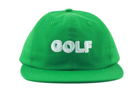 3D GOLF POLO STRAPBACK KELLY GREEN - Golf Wang Five Panel Cap 75ac7dc4bf4