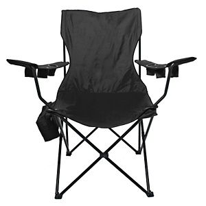Kingpin Giant Folding Chair With Cooler Bag And Carry Case At Hsn