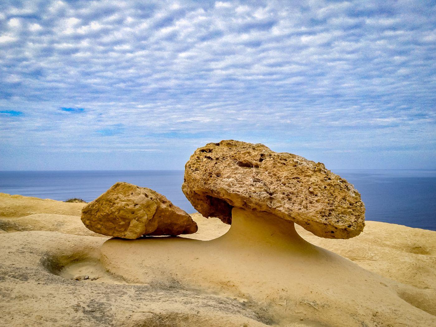 Gozo Island Natural Salines And Limestone Formations Stock ...   Gozo Limestone