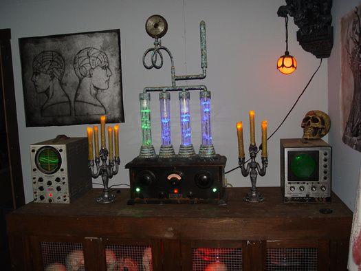Prop Showcase Frankenstein Laboratory Prop Bubbler