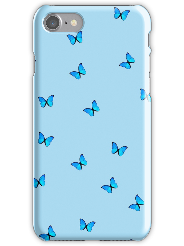 Blue Butterfly Iphone Case By Lessiops Blue Iphone 8 Plus Case Ideas Of Blue Iphone 8 Plus Case Blueiphone8pluscase Iphone Iphone Phone Cases Iphone Cases