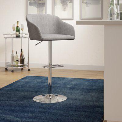 Remarkable Langley Street Brielle 23 5 Swivel Bar Stool Upholstery Inzonedesignstudio Interior Chair Design Inzonedesignstudiocom