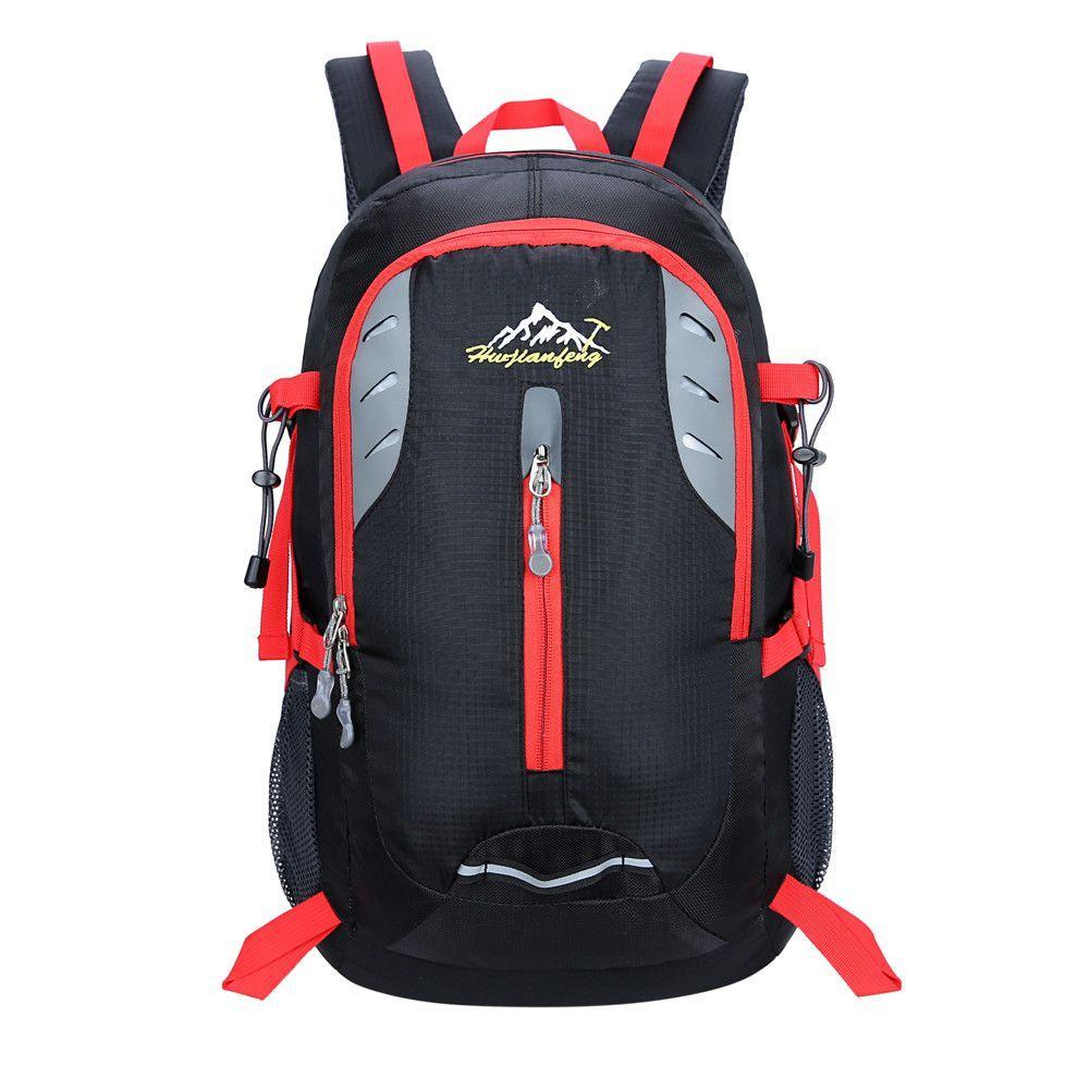 aa571534f1 35L Camping Backpack Travel Sports Rucksack Bag Waterproof Nylon School  Laptop Backpacks High Capacity Shoulder Bag