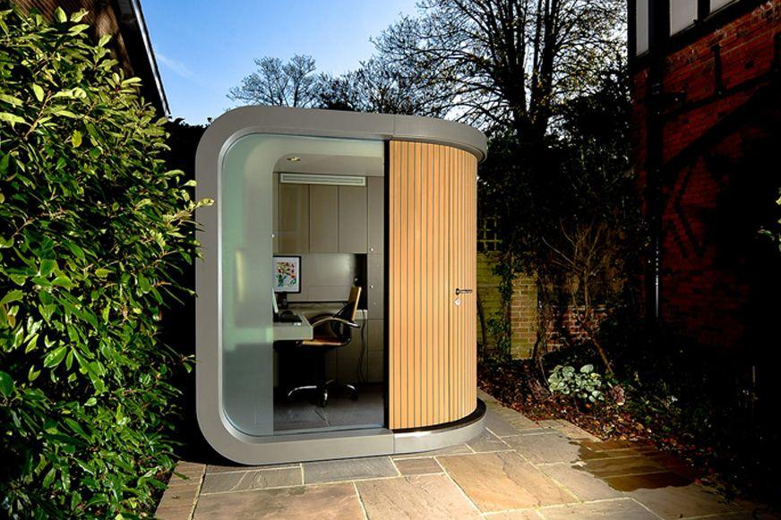 Officepod Gallery Backyard Office Office Pods Outdoor Office