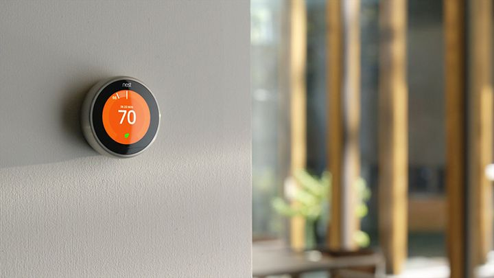 We Round Up All The Best Intelligent Thermostats For Your Connected Home In 2016 Hive Vs Nest Vs Tado And The Rest Which Is Bes Nest Thermostat Smart Home Automation Home Automation