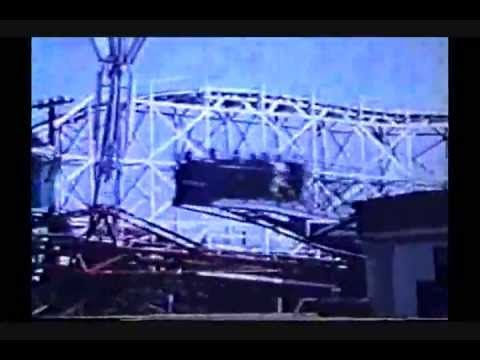 Rare Footage Of Bisch Rocco Flying Saucer Ride Makers Of Flying Scooters Ride Amusement Park Amusement Park