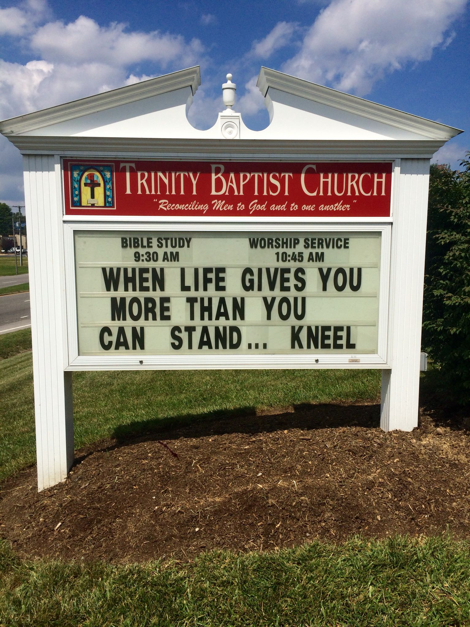 Church Sign Quotes Trinity Baptist Church Christiansburg Va Church Sign Marquee Http