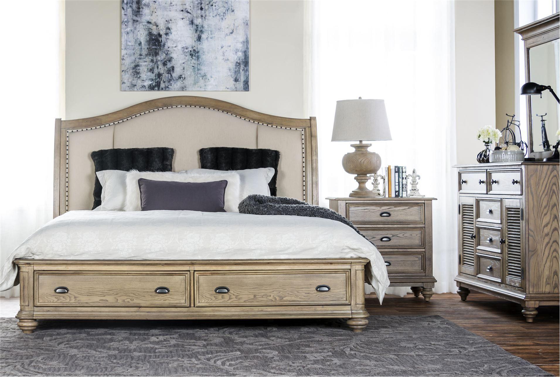 Bedroom Furniture Spot sutton california king storage bed | my furniture spot love love