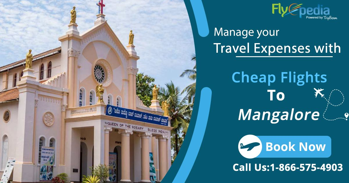Low-cost flight deals to #Mangalore with #Flyopedia!! Enjoy the cheapest flight tickets from the #USA to #India and save big! Contact us today!  For more information, call:- 1-866-575-4903 (Toll-Free).  #traveltoMangalore #travellingtoindia #USAtoIndia #flights #Airlines #DiscountableAirfare #SaveMore #Indians #usatoindiaflightdeals #vacation #HolidayPackage #Destinations #TouristsAttractions #traveldeals #traveloffers #VisitMangalore