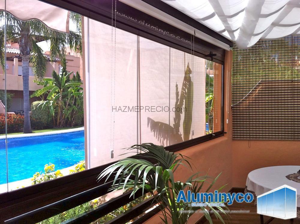 Acristalamiento de terrazas, cierres de cristal para terrazas - cortinas para terrazas