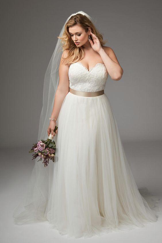consejos para vestidos de novia de talla grande | novias | pinterest