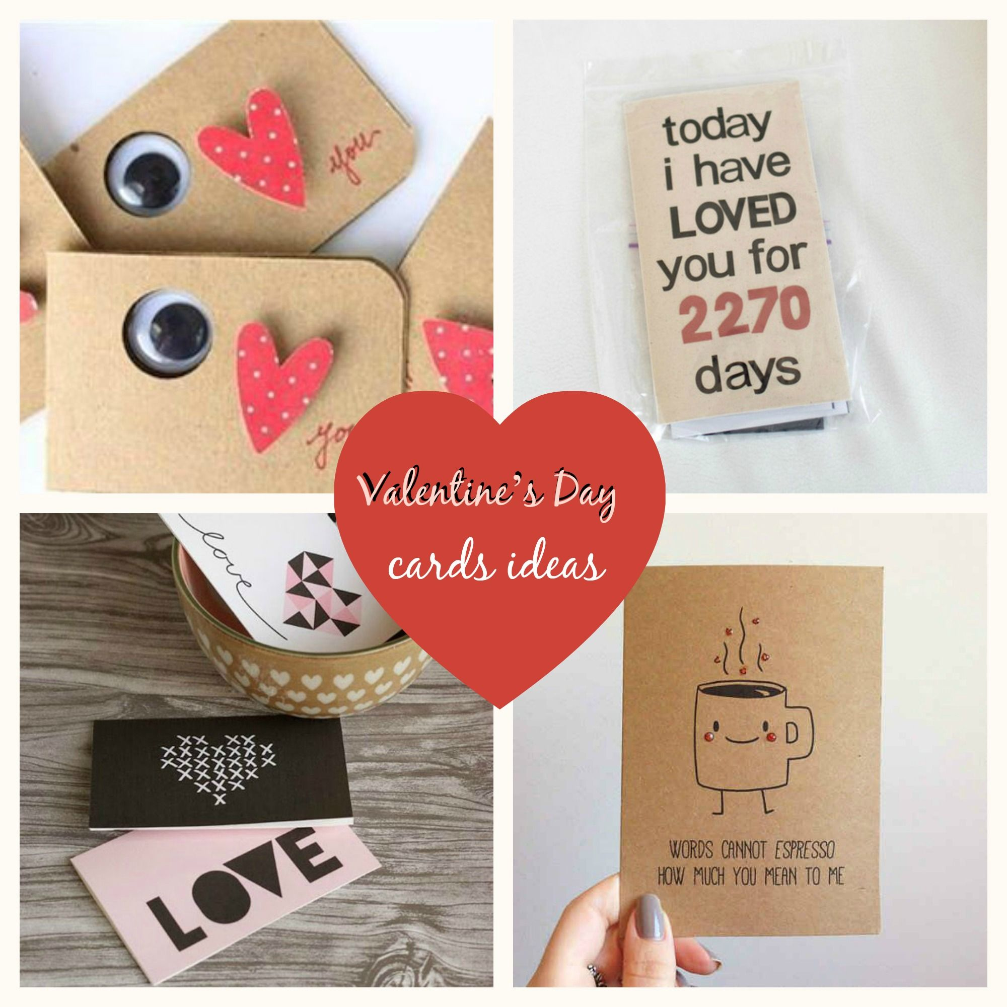 Card Making Ideas For Valentines Day Part - 33: Chic DIY Inspiration / Valentineu0027s Day Cards Ideas