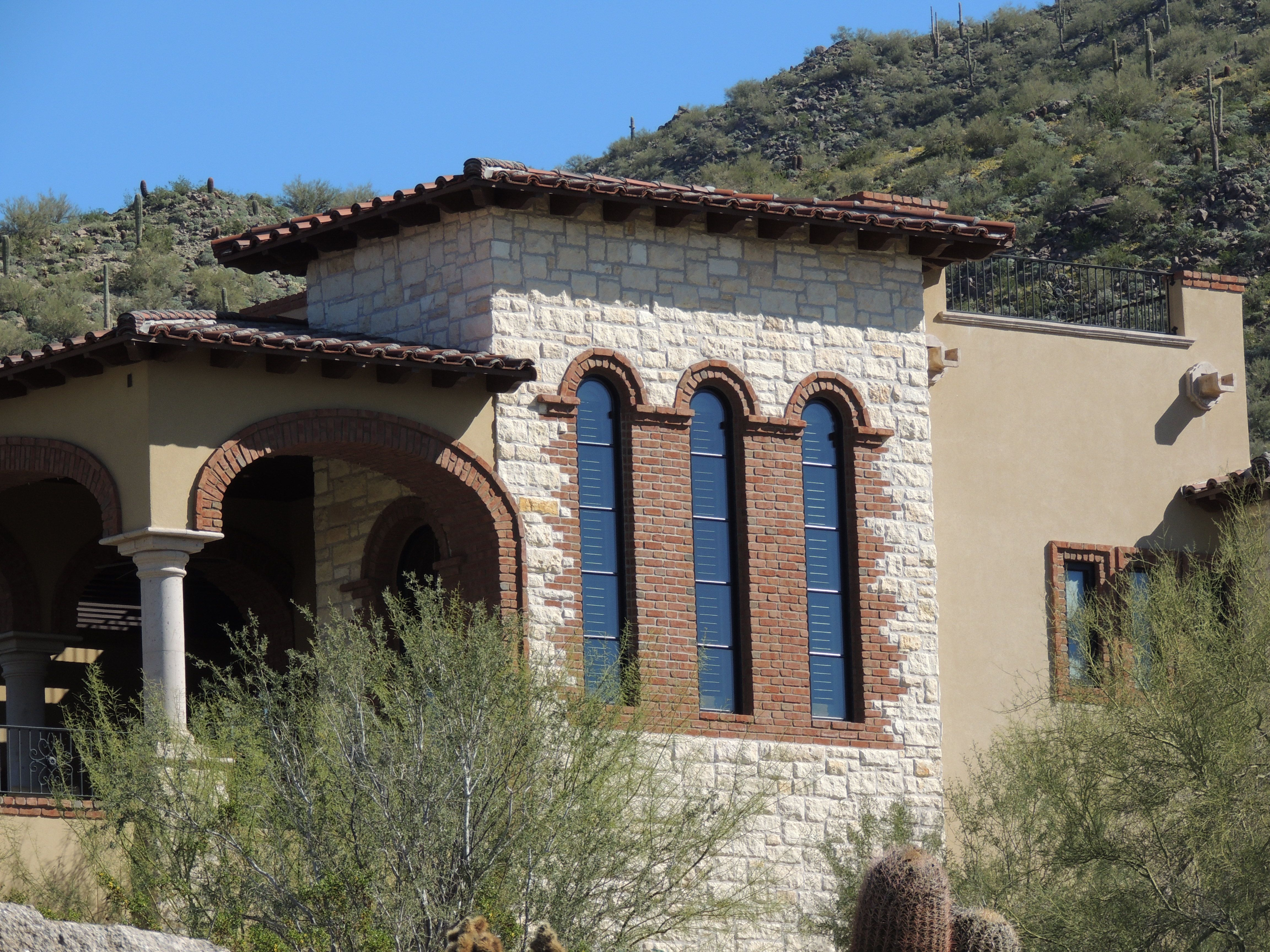 Architectural Design by I PLAN LLC Andalusian Style Estate Las