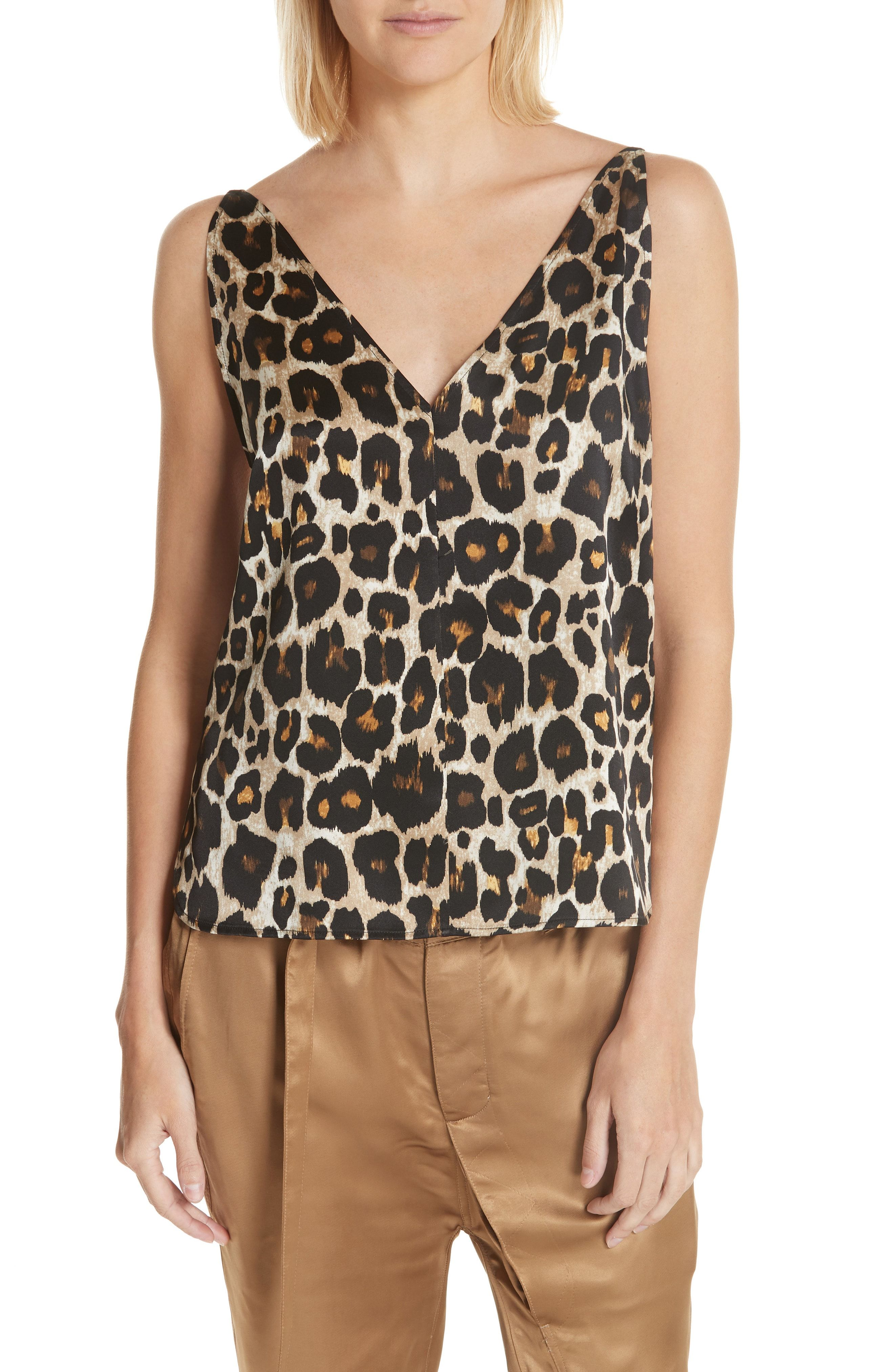 86c87ffa46433c Robert Rodriguez Leopard Print Tank Top available at  Nordstrom ...