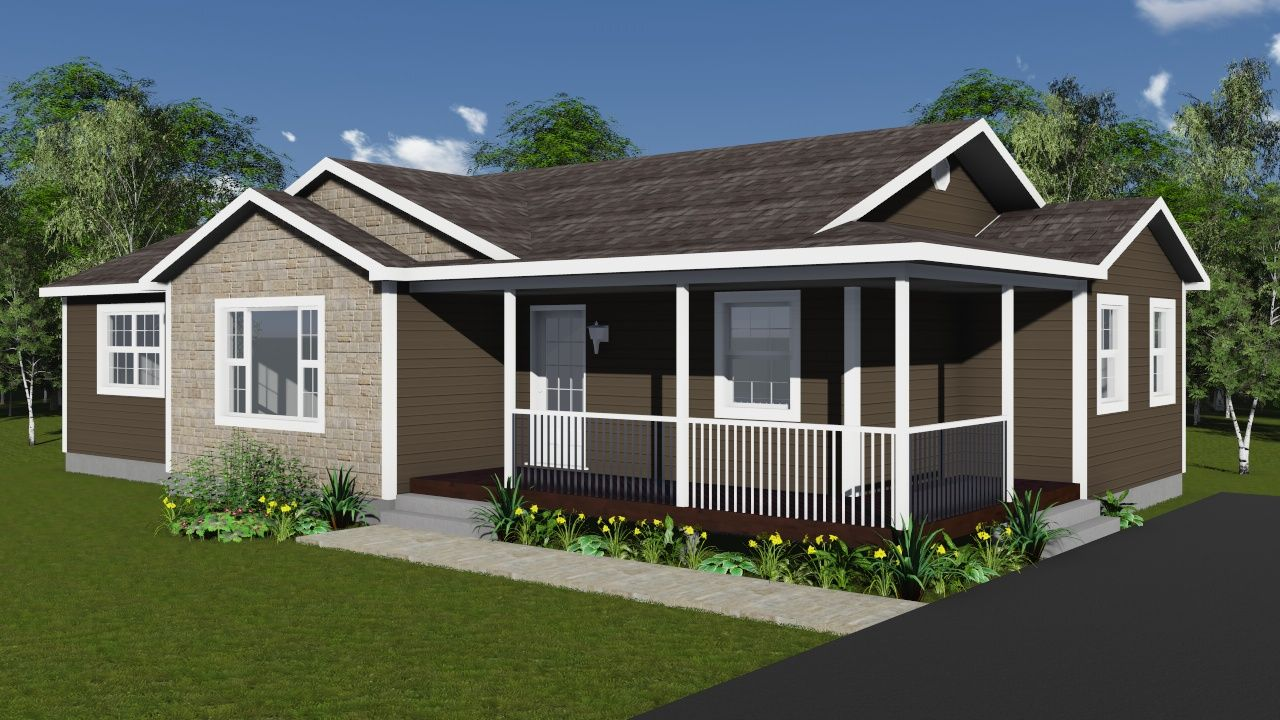 Raven Modular Home Floor Plan | Bungalows | Home Designs