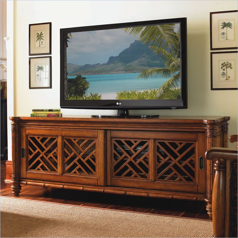 awesome home colonial living room furniture tv stand | Tommy Bahama Home Island Estate Grand Bank TV Stand in ...