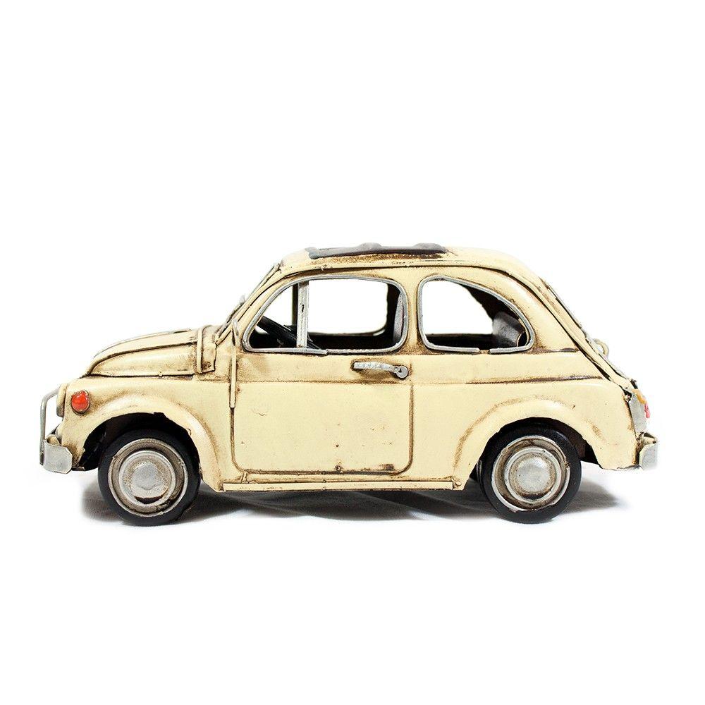 500 Bianca - Oggetto vintage - Modellismo - vetulus -