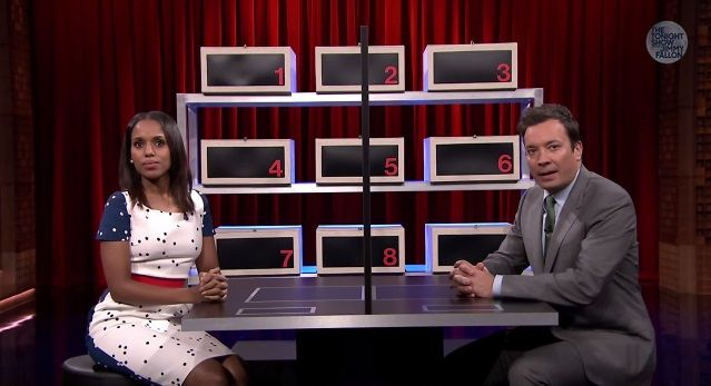 Kerry Washington plays 'Box of Lies' on the 'Tonight Show'
