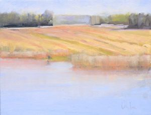 August, Alta Vista by Susan Larkin Oil ~ 12 inches x 16 inches