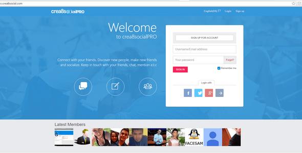 Crea8socialPRO v7 2 1 – Start Your Social Network Community