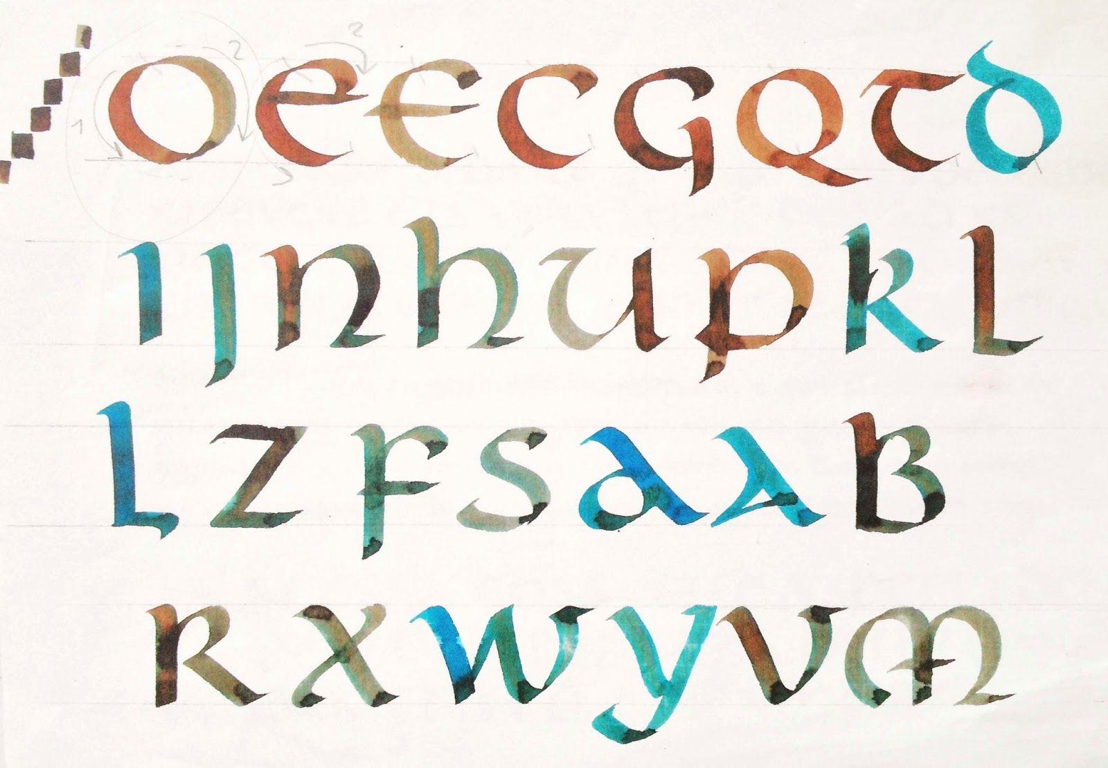 Calligraphic Design By Gabriela