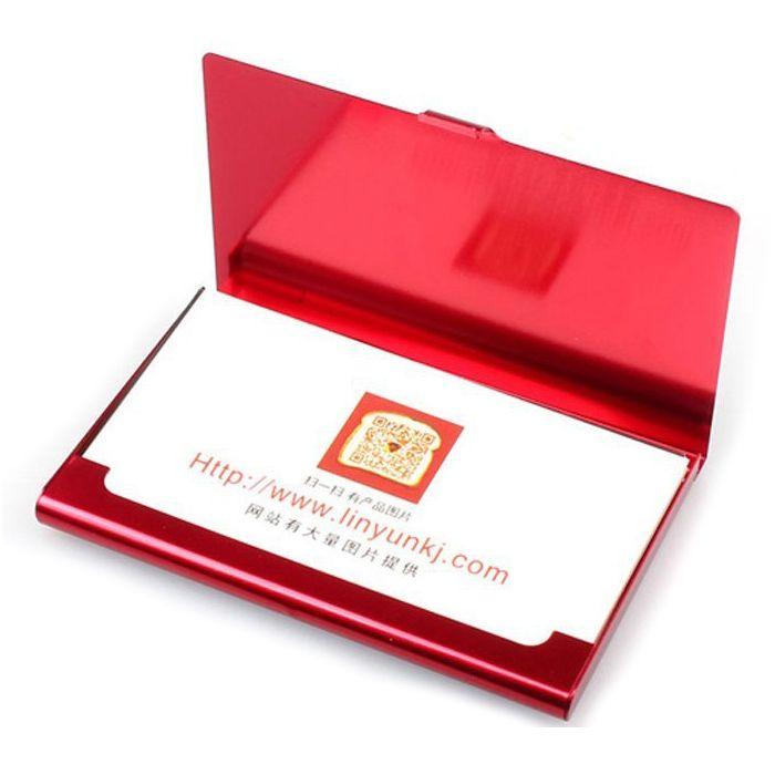 Fashion Business Office Creative Aluminum Holder Useful Box Cover ...