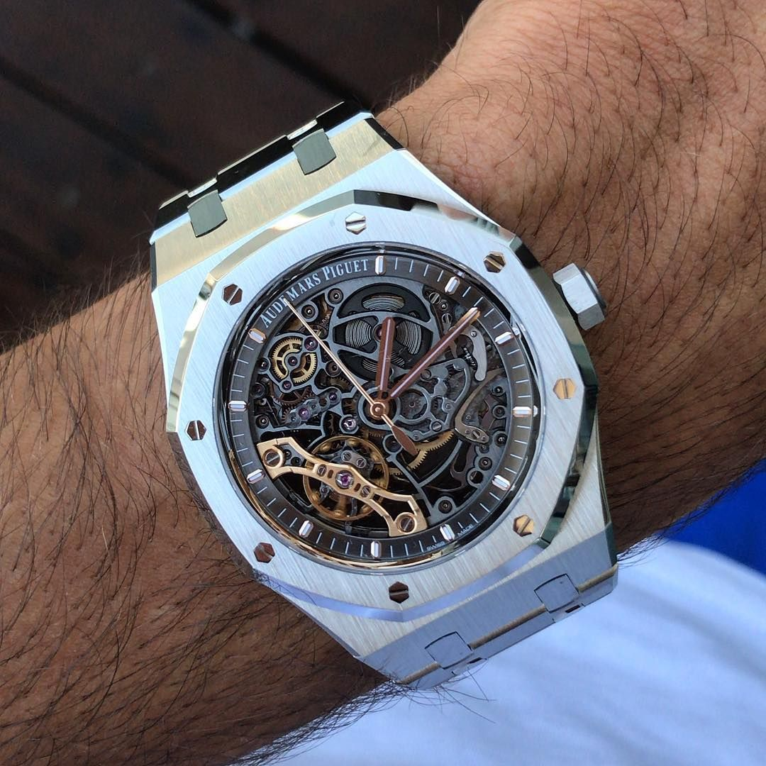 48a1ec54b0f Audemars Piguet Royal Oak Skeleton.