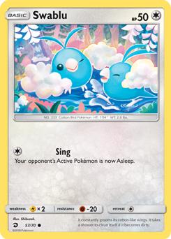 Swablu Cool Pokemon Cards Pokemon Trading Card Pokemon Tcg Cards