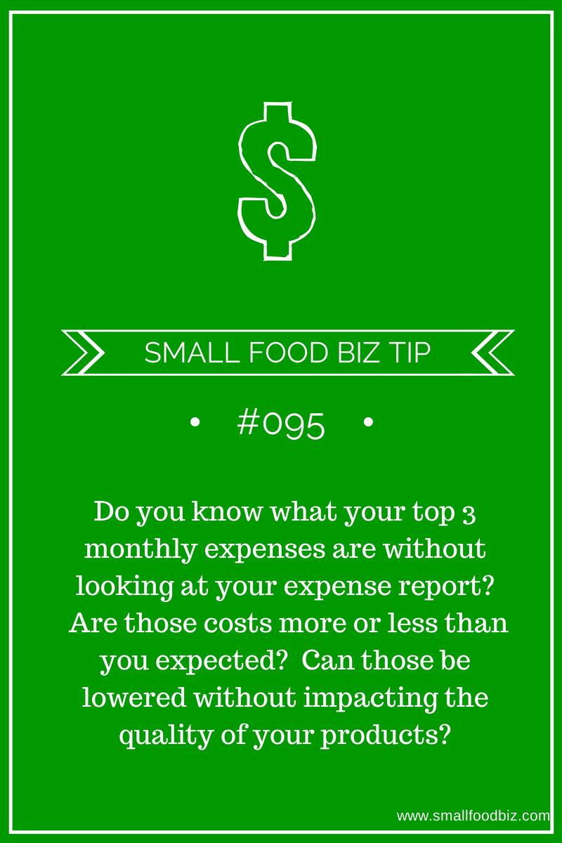 Understanding your expenses is key for entrepreneurs
