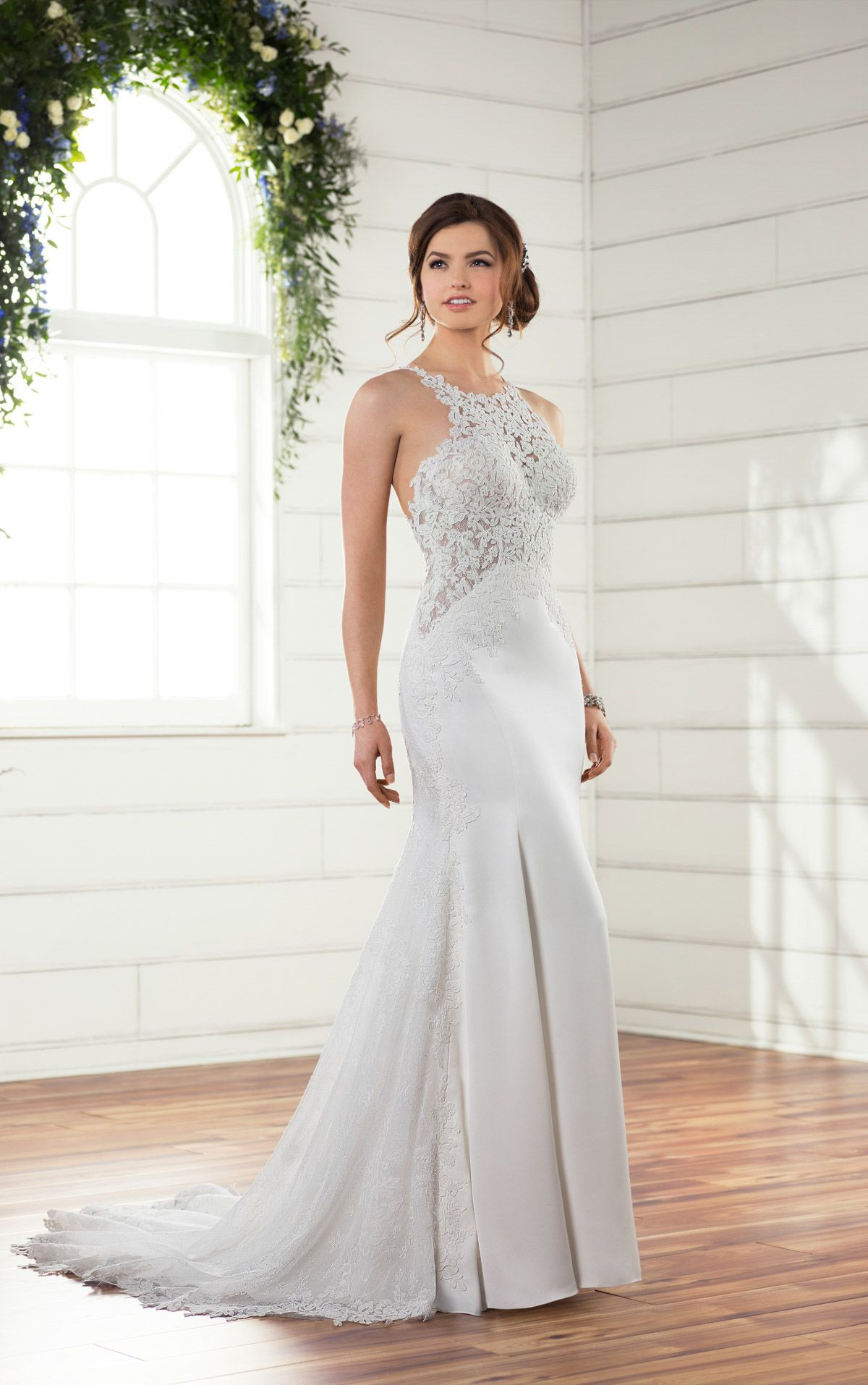 Essense of Australia bridal gown at The Bridal Cottage! #lace #train ...